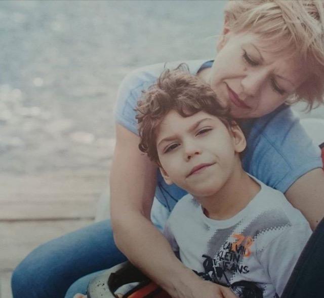 Митя с мамой
