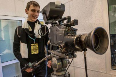 Будущие журналисты в Школе телевидения ВГУЭС