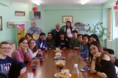 В Азиатско-Тихоокеанском клубе Дворца детского творчества г. Владивостока отметили праздник Сонгкран