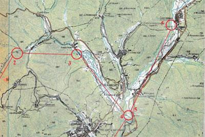 Разработка маршрута многодневного похода