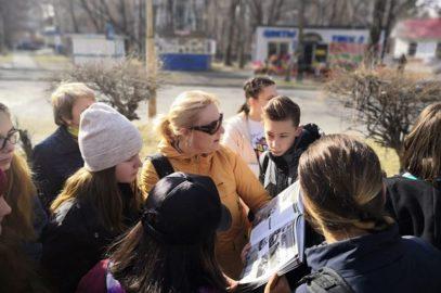 Юные следопыты Владивостока побывали на экскурсии в пгт.Лучегорск